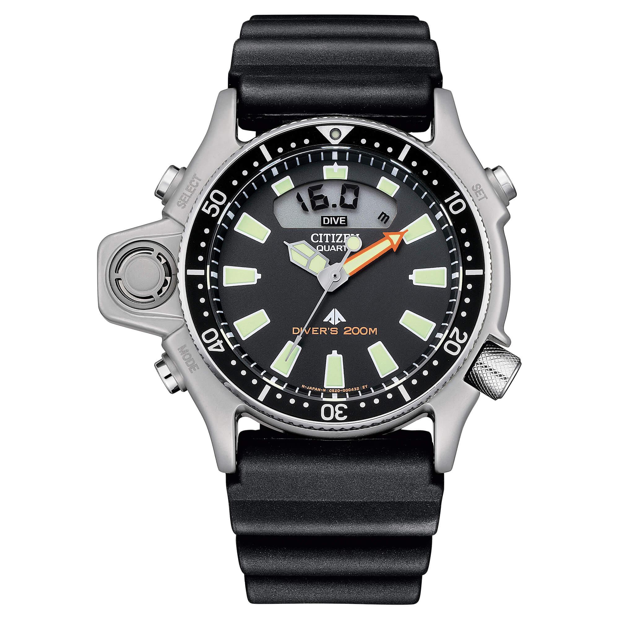 Citizen Aqualand JP2000-08E- Il miglior Diver professionale