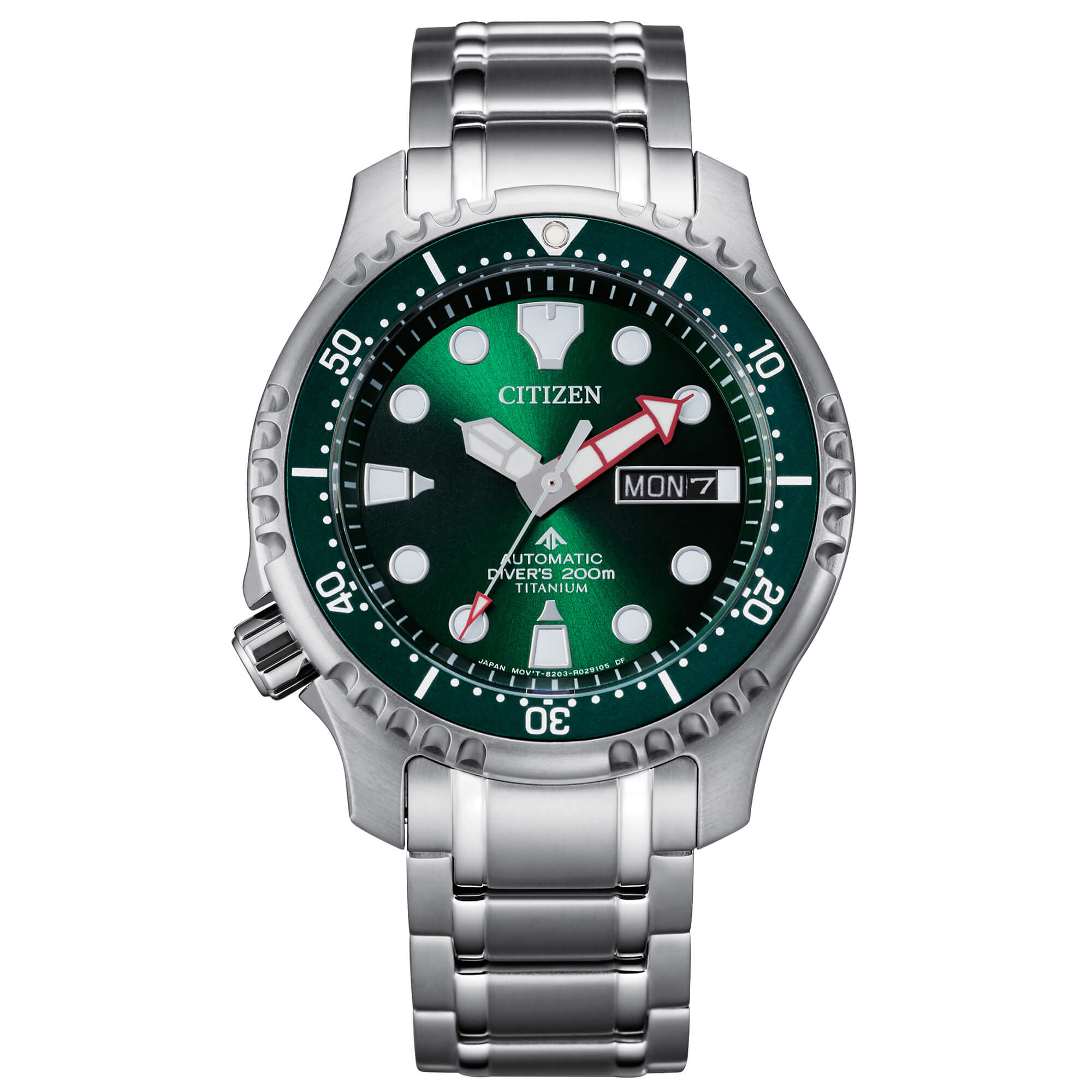 Citizen Watch Italy | Diver's Automatic 200 mt Super Titanio